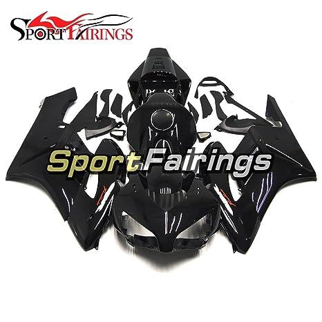 sportfairings negro Inyección de plásticos ABS Kits de carenado para HONDA CBR1000RR 2004 2005 Embellecedores