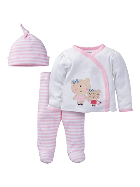 """c33ac443c Image Unavailable. Image not available for. Color: Gerber 0-3M 0-3 Months  Baby Girl Layette Set """"Take Me Home"""