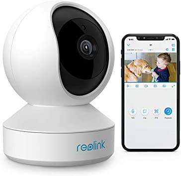 Opinión sobre Reolink WiFi Cámara IP Interior 3MP HD Bebé Monitor, 2.4GHz Cámara Vigilancia Giratorio & Inclinación, Audio Bidireccional Detección de Movimiento Hogar Seguridad, E1