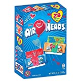 Air Heads Mini Bars & Valentines Cards 28ct