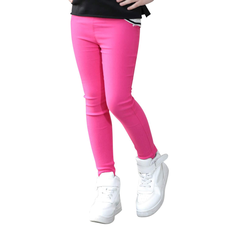 CHIC-CHIC Legging Moulant Bébé Fille EN Coton Pantalon de Sport Doux Mignon Souple et Confortable Mignon