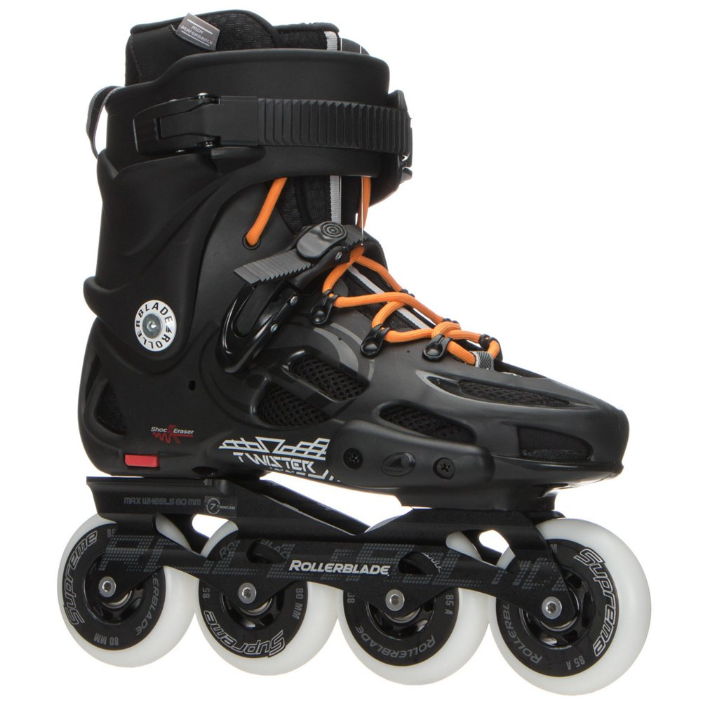 Rollerblade Men's Twister 80 Skates Black 28.5 by Rollerblade