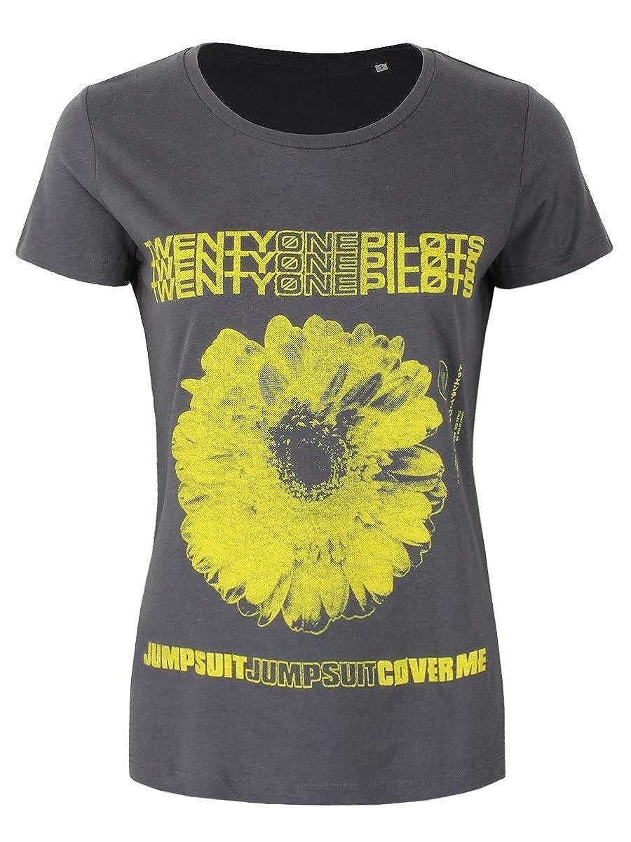 Twenty One Pilots Daisy T-Shirt ash-Black