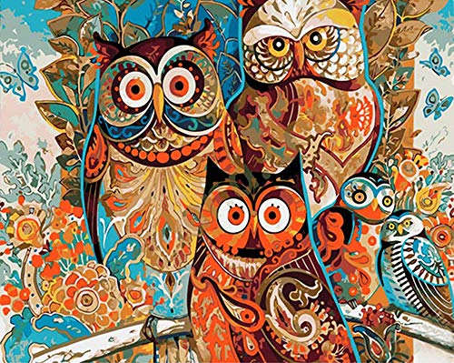 iCoostor Wooden Framed Paint by Numbers DIY Acrylic Painting Kit for Kids & Adults Beginner - 16