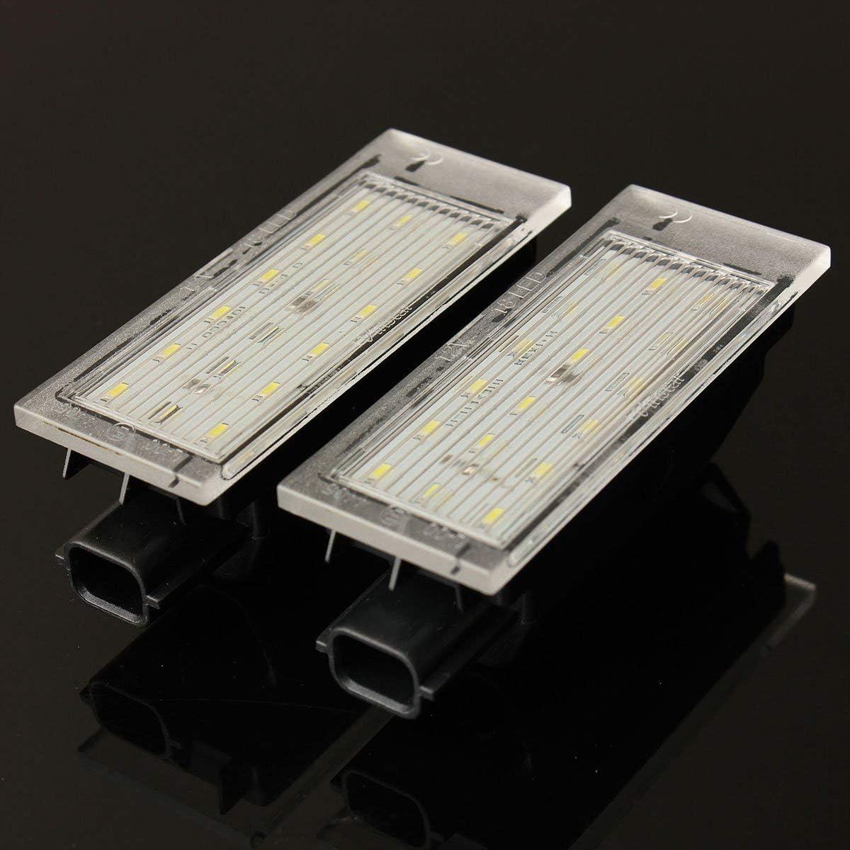 Audew Kennzeichenbeleuchtung Nummernschildbeleuchtung 2 St/ücke