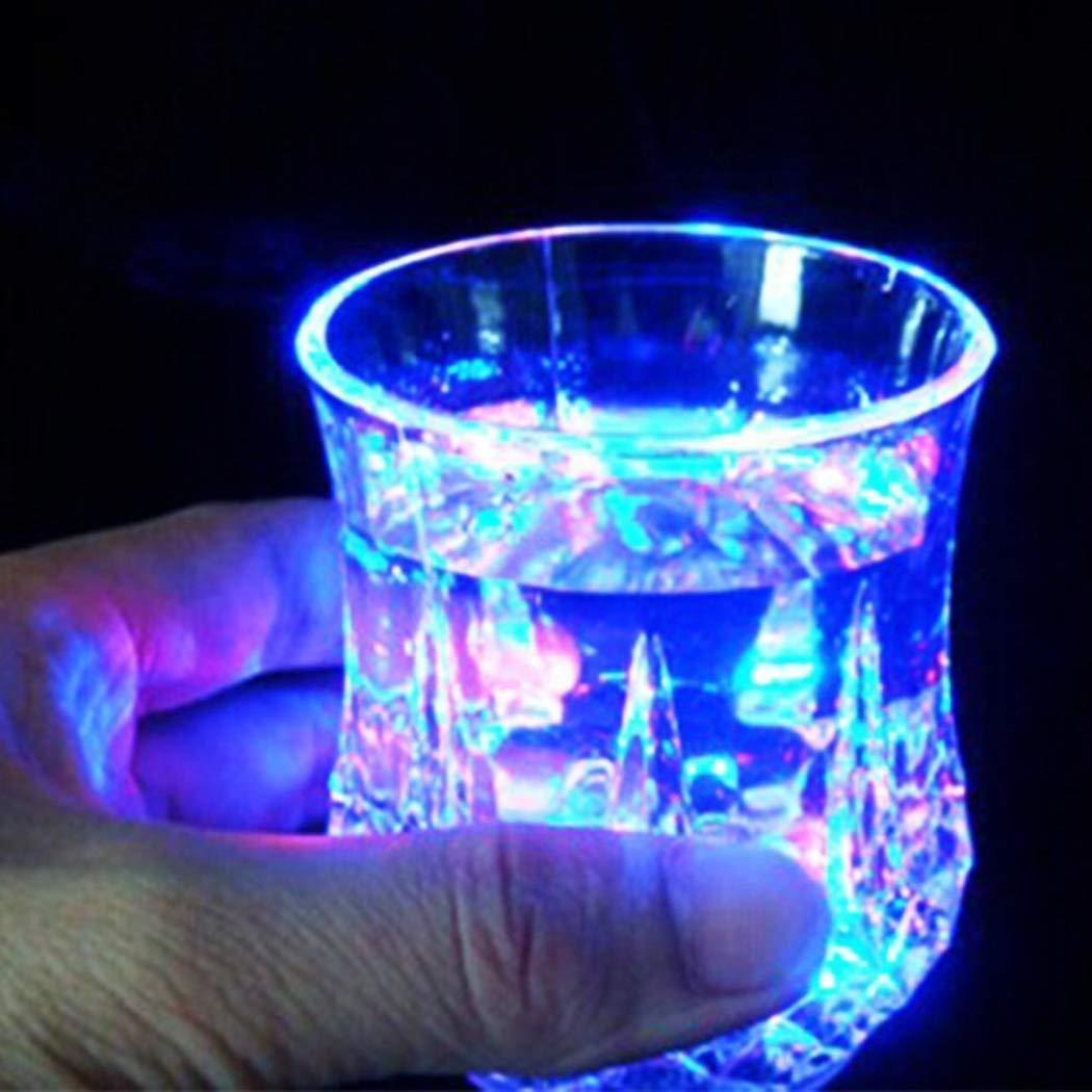 LOKIUS Festa Nuziale LED Birra Whisky Bar Club Bevanda Cup Night Light Cup