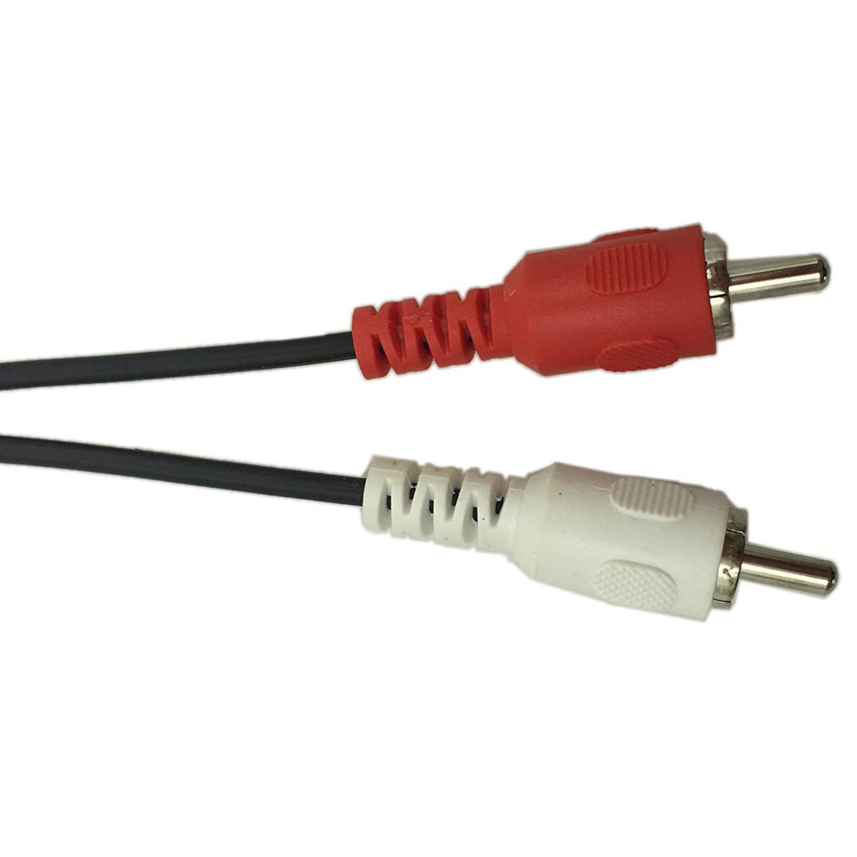 Cikuso 5 Pin DIN Hembra a 2 RCA Macho Cable de Audio de Grado ...