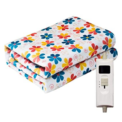 Manta eléctrica agua caliente, calentada tiro de la cama más caliente, el control eléctrico
