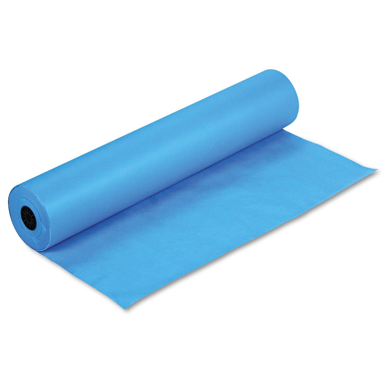 Pacon 63170虹色クラフト紙スムーズデュオフィニッシュ36×1000 R1を明るく B004E3PMCU ブライトブルー