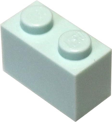 100 PIECES LEGO-1 x 2 WHITE BRICKS-BRAND NEW