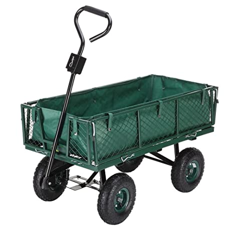 Amazoncom Palm Springs Outdoor Heavy Duty Garden Cart Utility