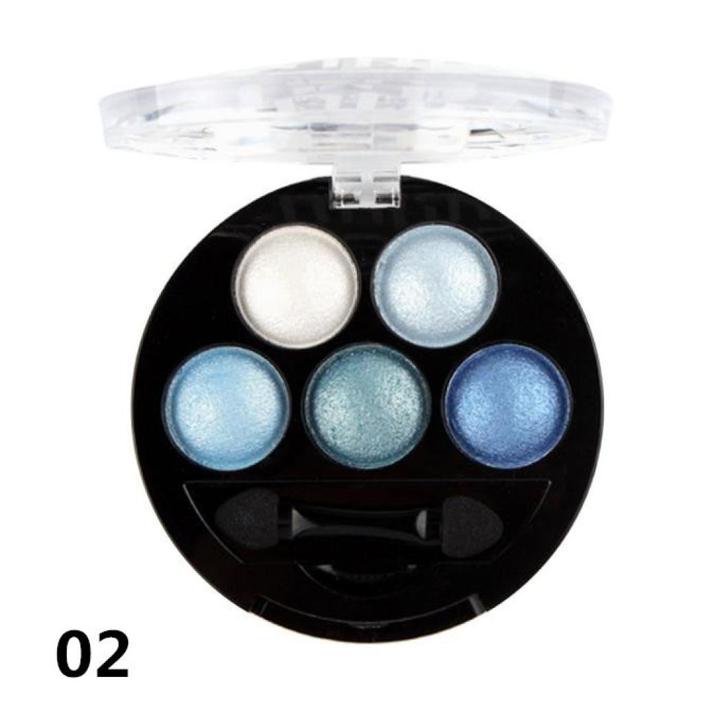 UBUB Single Professional Eye Shadow Powder Palette Shimmer Metallic Eyeshadow Palette by DMZing