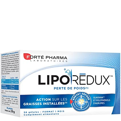 Fort Pharma Lipo Rdux 900mg 56 Capsules by Forte Pharma
