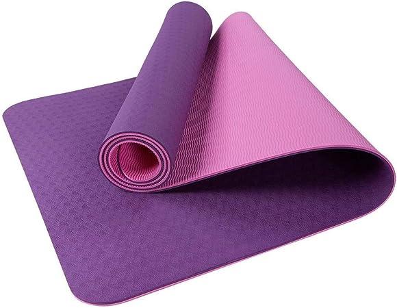 Amazon.com : FANFF Yoga mats Yoga Mat Exercise TEP Fitness ...