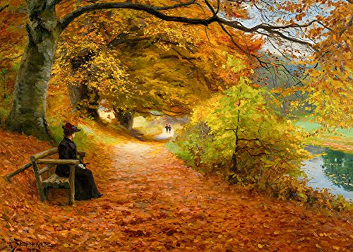 - A Wooded Path in Autumn 1000 Piece Landscapes & Scenery Jigsaw Puzzle