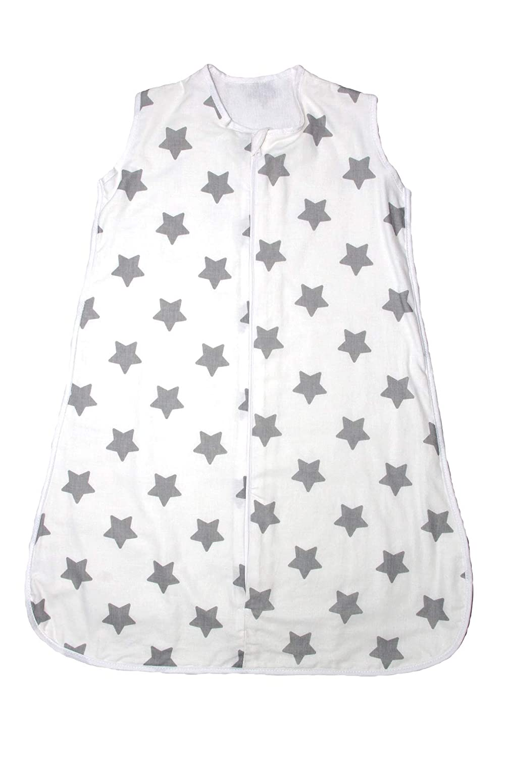 Baby's Comfort Summer/Winter Sleeping Bag 100% Cotton All Sizes/All togs (0-6 Months (1 tog) Summer, 4) a Baby's Comfort