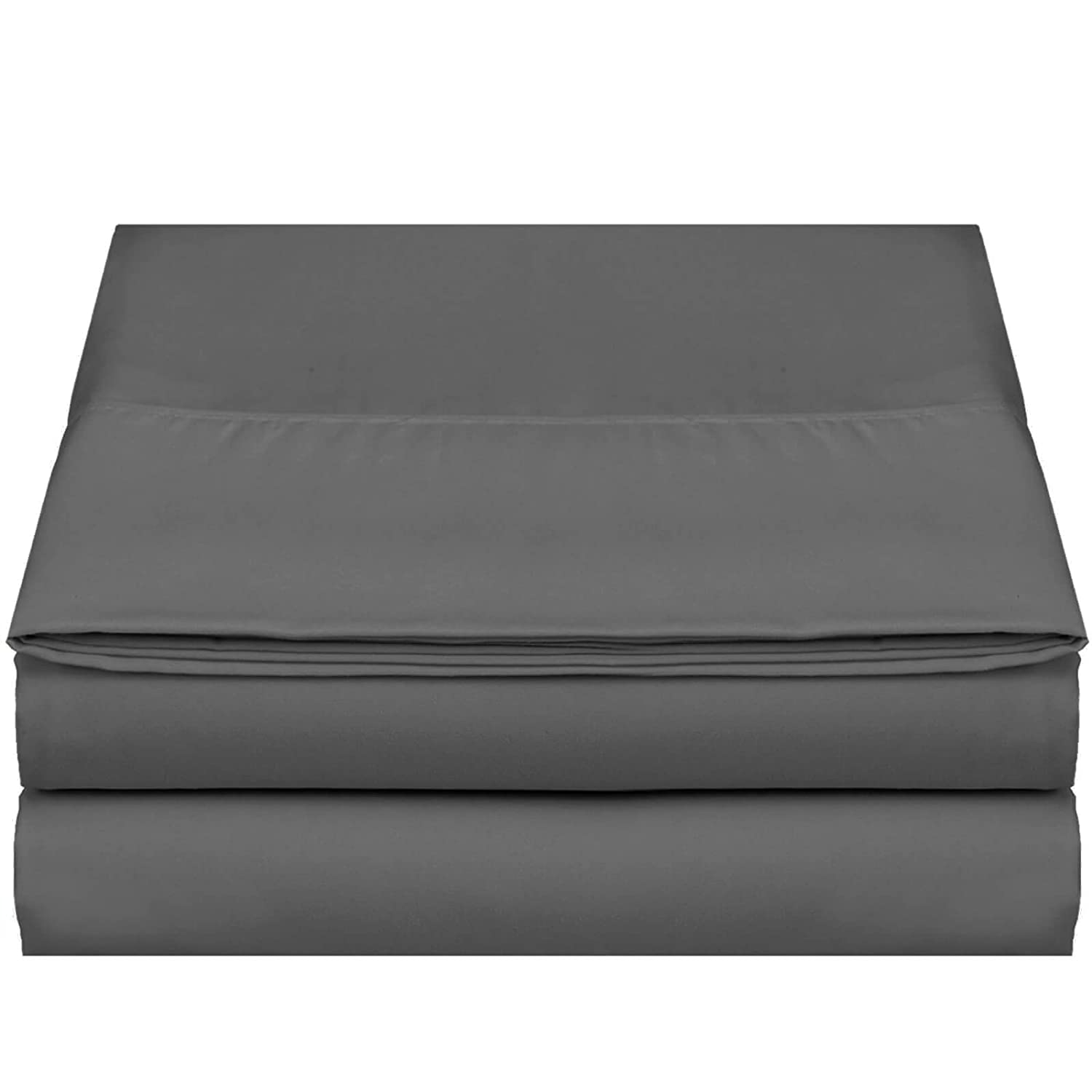 """Taupe Sand 2-Pack /""""110 GSM/"""" Top Bed Sheets Double Brushed Microfiber Thick and Comfortable Flat Sheets Set Full Empyrean Bedding Premium Flat Sheets Luxurious /& Soft Hotel Hypoallergenic"""