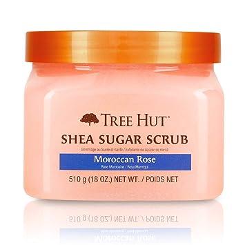 Moroccan Rose Shea Sugar Scrub by tree hut #22