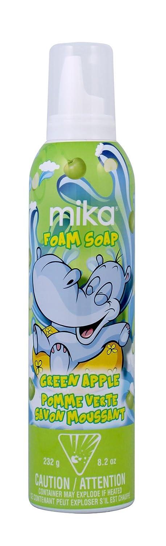mika Green Apple Foam Soap, 8.2 Oz 14005