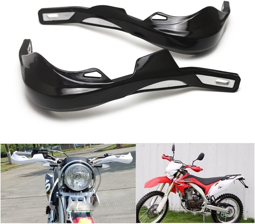 KKmoon 22mm 28mm ATV Dirt Bike Hand Guards Protector Moto Moto Manubrio Handguard Motocross Maniglia di Protezione Arancione