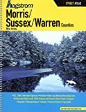 img - for Hagstrom Morris / Sussex / Warren Counties NJ Atlas (Hagstrom Warren, Morris, Sussex Counties Atlas Large Scale) book / textbook / text book