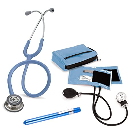 Set Enfermera Profesional + Grabado Láser Personalizado (Azul)