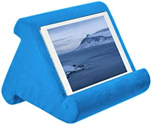 Soft Tablet Stand Pillow, Angle Soft Pillow Multi Lap Pillow Stand, Portable Triangle Tablet Stand, for Tablets, eReaders, Smartphones, Books,F