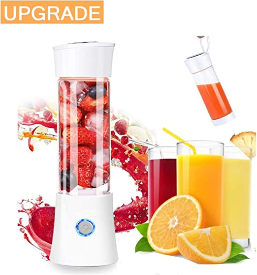 Xchingwan Smoothie Maker Mini licuadora Recargable con Extractor ...