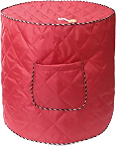 Air Fryer Cover Also for 6 Quart Instant Pot and Electric Pressure Cooker with Pocket,Electric Appliance Dust-Proof Cover - Red