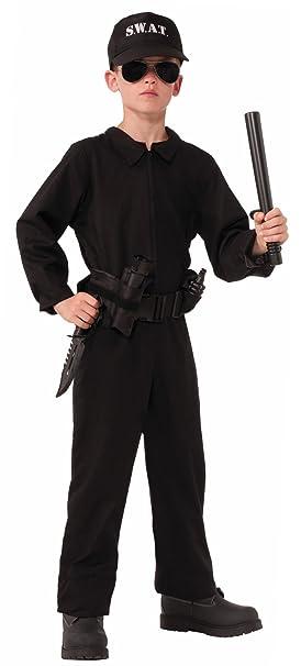 Amazon.com: Special Ops S.W.A.T. Jumpsuit disfraz del Niño ...