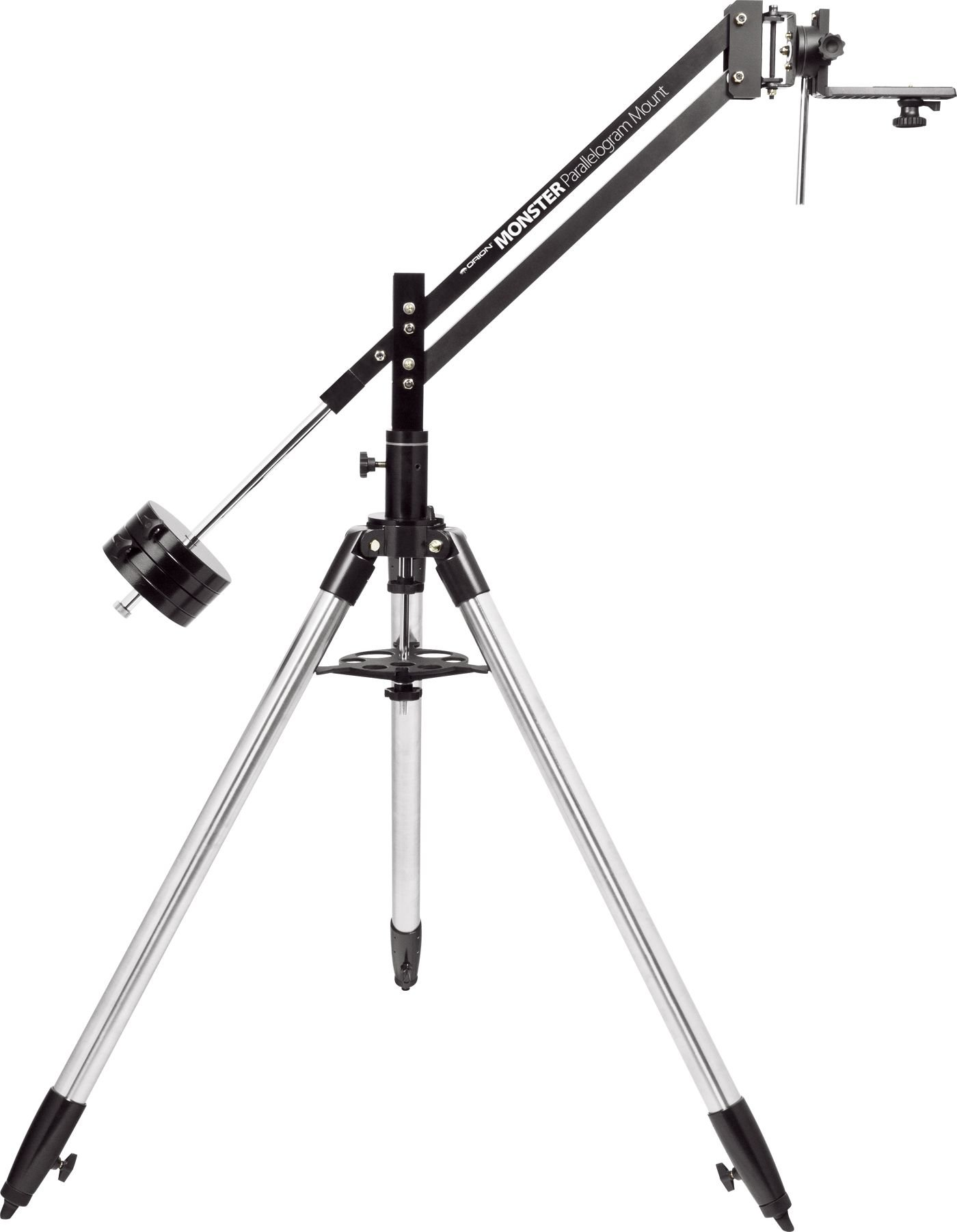 Orion 05752 Monster Parallelogram Binocular Mount & Tripod (Black)