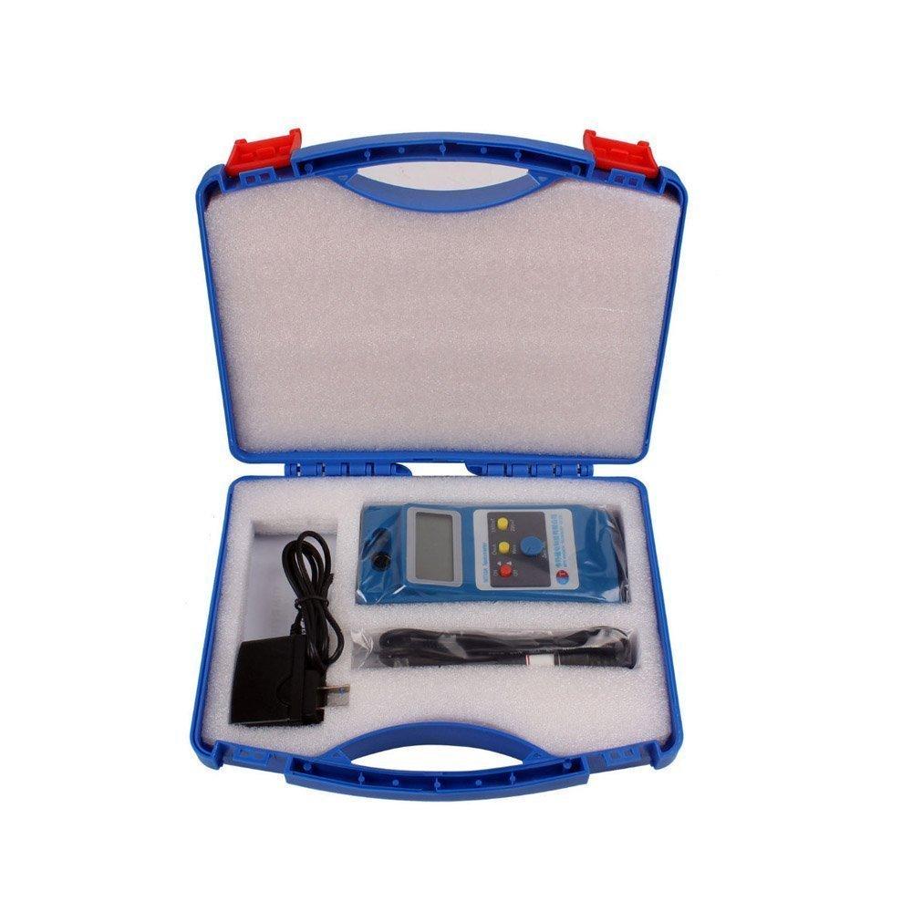 Medidor de Gaussmeter Tesla LCD WT10A Fluxmeter Surface Magnético ...