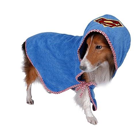VLUNT Albornoz de Mascotas Toallas para Perro Secado rápido de Microfibra y Hidrófugo Toalla Seca para