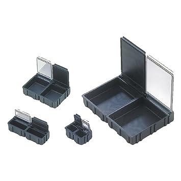 37 x12 x 15 mm ESD schwarz Wetec SMD-Klappbox mittel