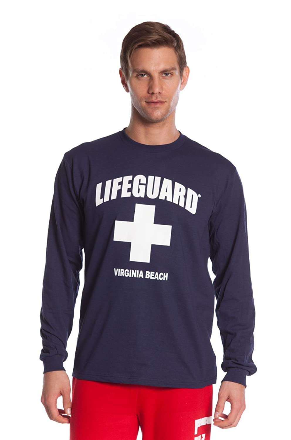 Official Lifeguard Guys Long-Sleeve Printed Tee