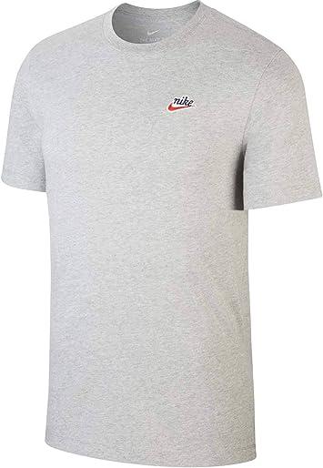 NIKE M NSW tee Heritage + - Camiseta Hombre: Amazon.es: Deportes y aire libre