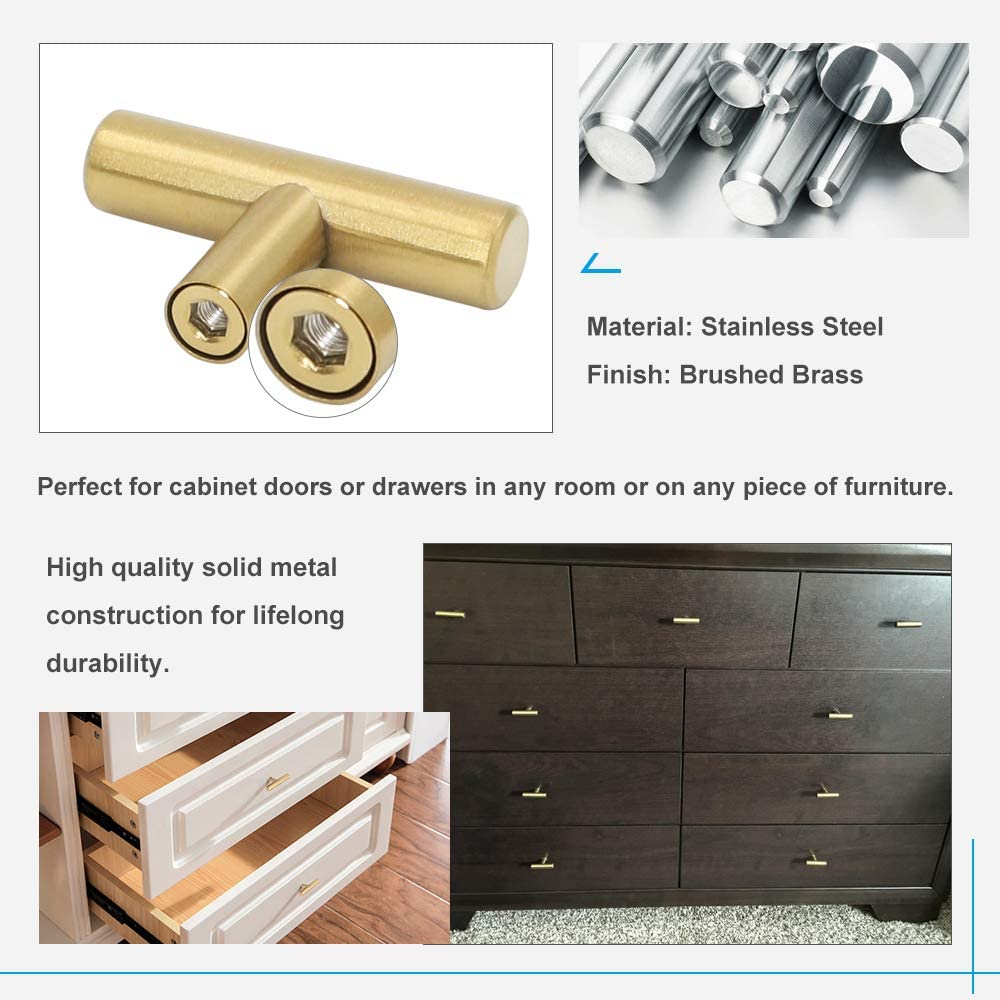 HD201GD Vintage Cabinet Hardware Knobs for Dresser Drawers 25Pack 2in Overall Length Cupboard Door Knobs homdiy Gold Dresser Knobs Kitchen Cabinet Hardware