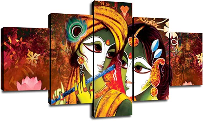 The Best Home Decor Krishna Painting