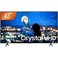 "Smart TV LED 43"" UHD 4K Samsung UN43TU7000GXZD, Processador Crystal 4K, HDR, Borda Infinita, Controle Remoto Único…"