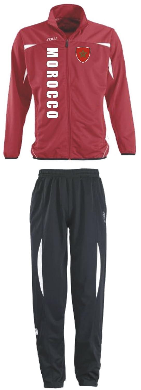 Marokko Trainingsanzug Sportanzug S XXL Fußball
