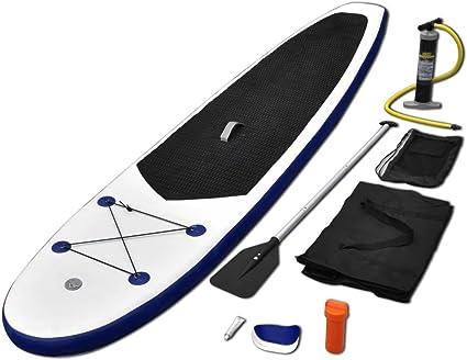 vidaXL Juego de Tabla de Paddle Surf Hinchable Deportes Acuáticos ...