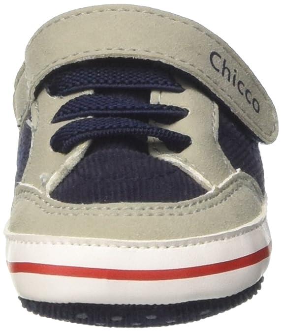 Chicco Nerex, Sneaker a Collo Basso Bambino, Blu, 17 EU