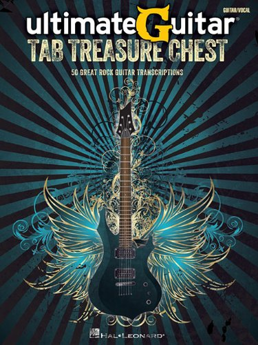 Ultimate Guitar Tab Treasure Chest: 50 Great Rock Guitar for sale  Delivered anywhere in USA