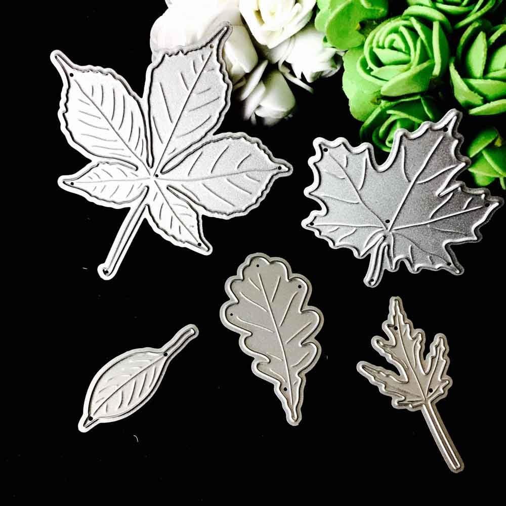 KIMODO Forma de Die Cuts creativo hacer tarjetas y hacer manualidades para DIY Acero al carbono plata
