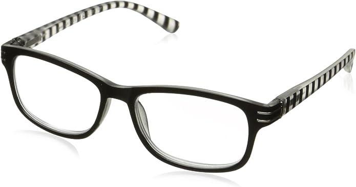 Sight Station Botanica Ebony Reading Glasses Strength 3.5