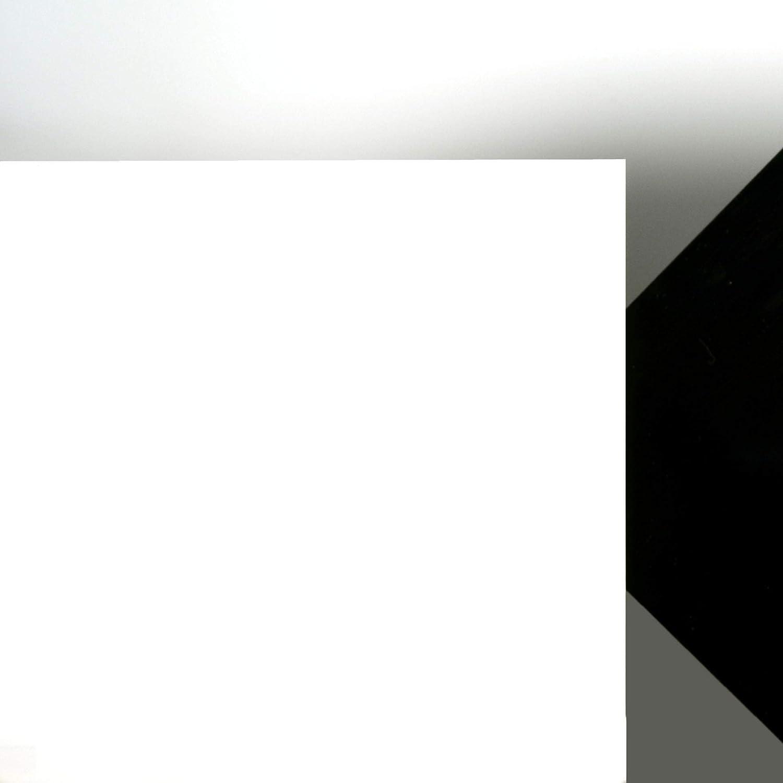 Acrylglas Platte wei/ß gedeckt Ma/ße 100 x 100 x 0,3 cm Lichtdurchl/ässigkeit 3/%