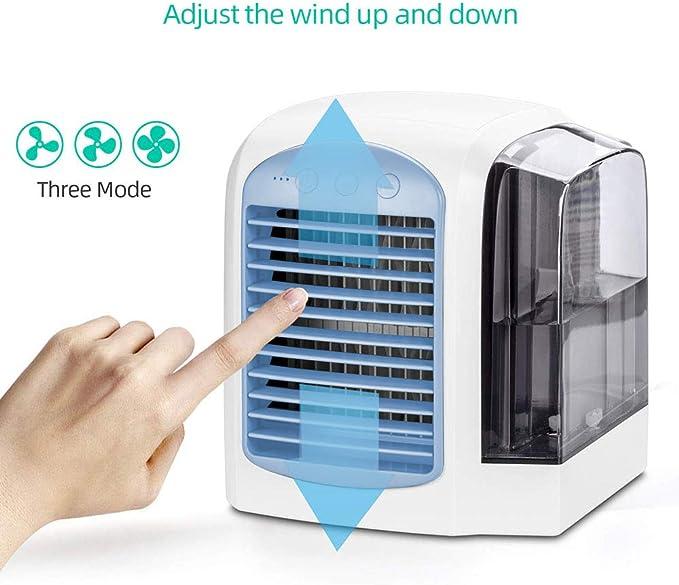 Mini aire acondicionado portátil, USB Air Cooler, climatizador ...