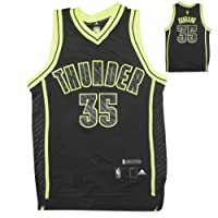 LIMITED EDITION: YOUTH NBA Oklahoma City Thunder Durant #35 Athletic Comfortable Fit Sleeveless Jersey Shirt / Vest with Embroidered Logo & Numbers