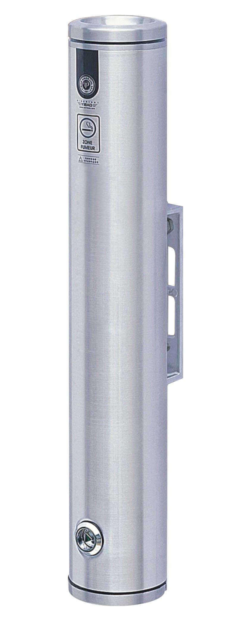 Vestil SMK-W-19A Wall Mounted Aluminum Smoker Bollard, 3-1/4'' OD, 19'' Height