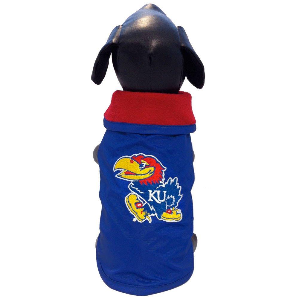 Medium All Star Dogs Kansas Jayhawks All Weather Resistant Predective Dog Outerwear, Medium
